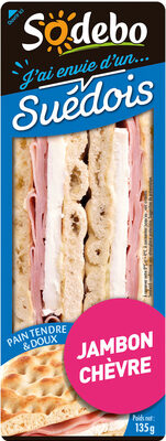 J'ai envie d'un Suédois - Jambon Chèvre - Product - fr