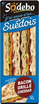 J'ai envie d'un Suédois - Bacon grillé Cheddar - Product