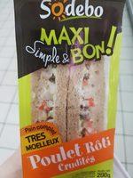 Maxi Poulet Rôti Crudités - Product