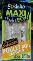 Sandwich Maxi Simple & Bon ! - Poulet rôti Crudités - Product