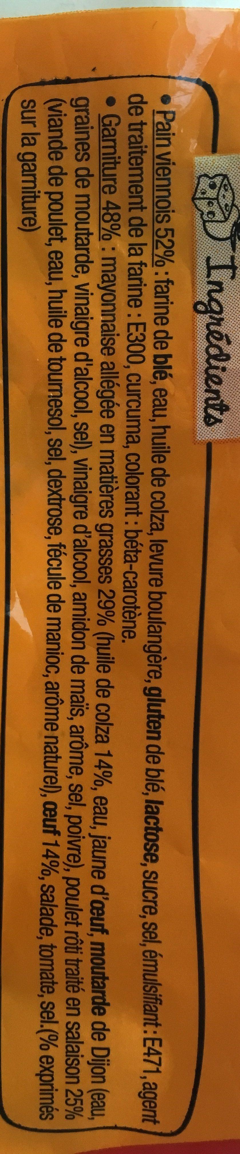 Poulet rôti Oeuf Mayo légère - Sodebo - 270 g