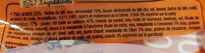 L Extra Poulet Rôti Moutarde - Ingrédients - fr