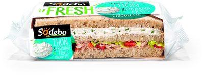 LE FRESH - Thon et fromage frais ciboulette - Produit - fr