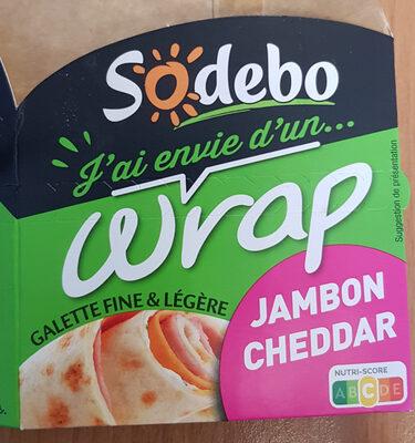 J'ai envie d'un wrap - Jambon Cheddar - Product