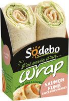 J'ai envie d'un wrap - Saumon fumé - Product