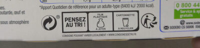 Planet wrap grec - Recycling instructions and/or packaging information - fr