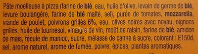 Sodebo Pizza Crust - Farmer - Ingredients