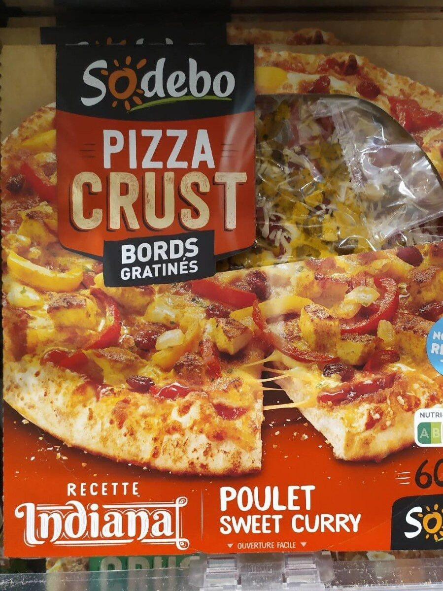 Pizza CRUST poulet curry - Product