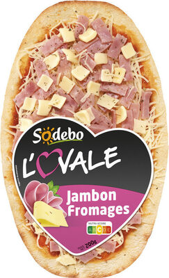 L'Ovale Jambon Fromages - Prodotto - fr