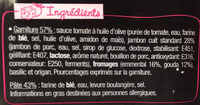 L'Ovale Jambon Fromages - Ingredienti - fr