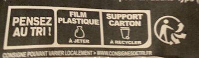 L'Ovale Jambon Fromages - Istruzioni per il riciclaggio e/o informazioni sull'imballaggio - fr