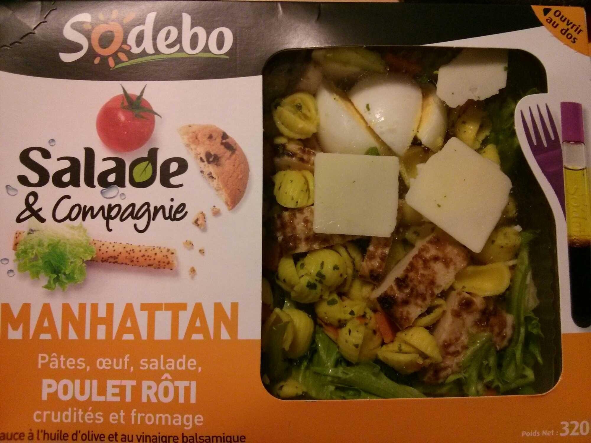 Salade & Compagnie - Manhattan - Produit