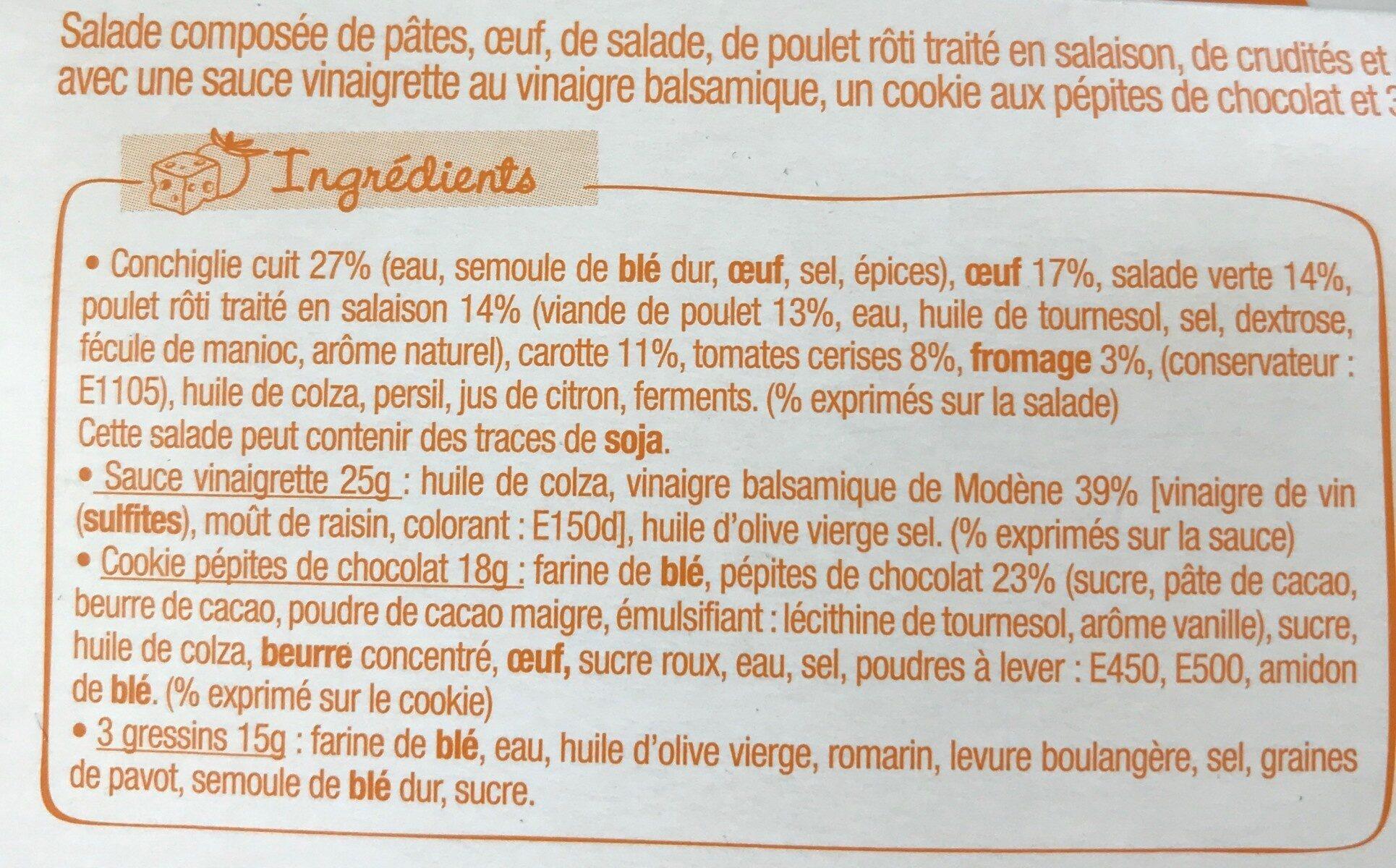 Salade & Compagnie - Manhattan - Ingredients