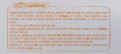 Salade & Compagnie - Manhattan - Ingrédients - fr