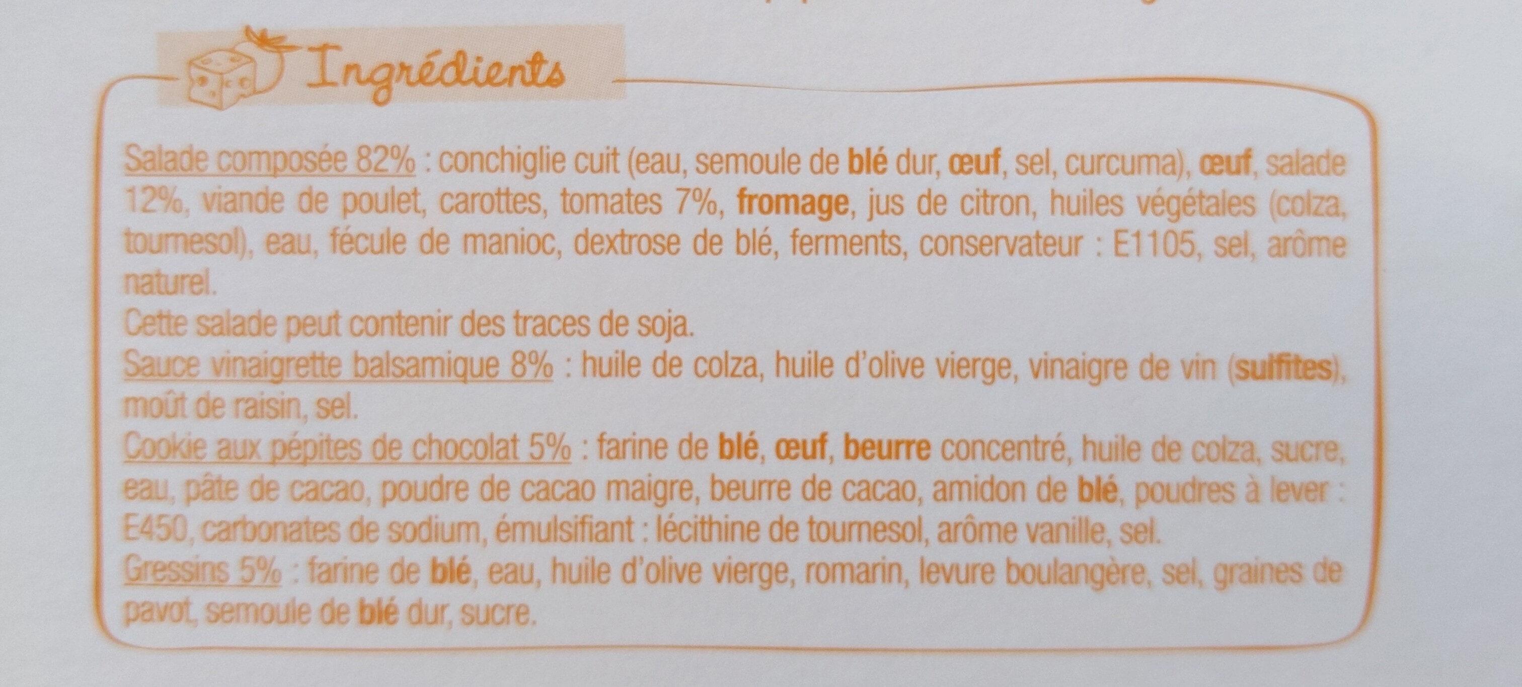 Salade & Compagnie - Manhattan - Ingrediënten - fr