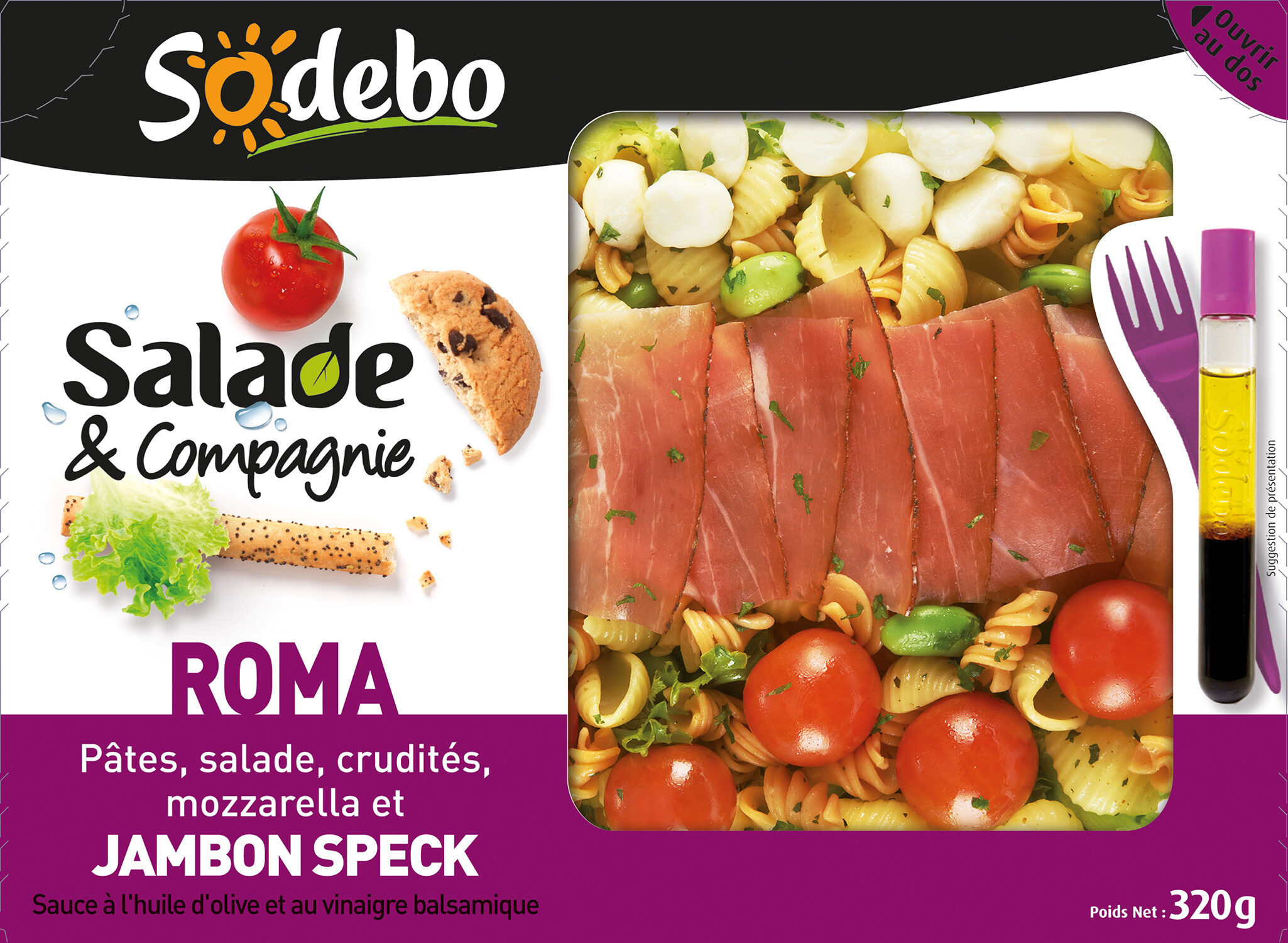 Salade & Compagnie - Roma - Producte - fr