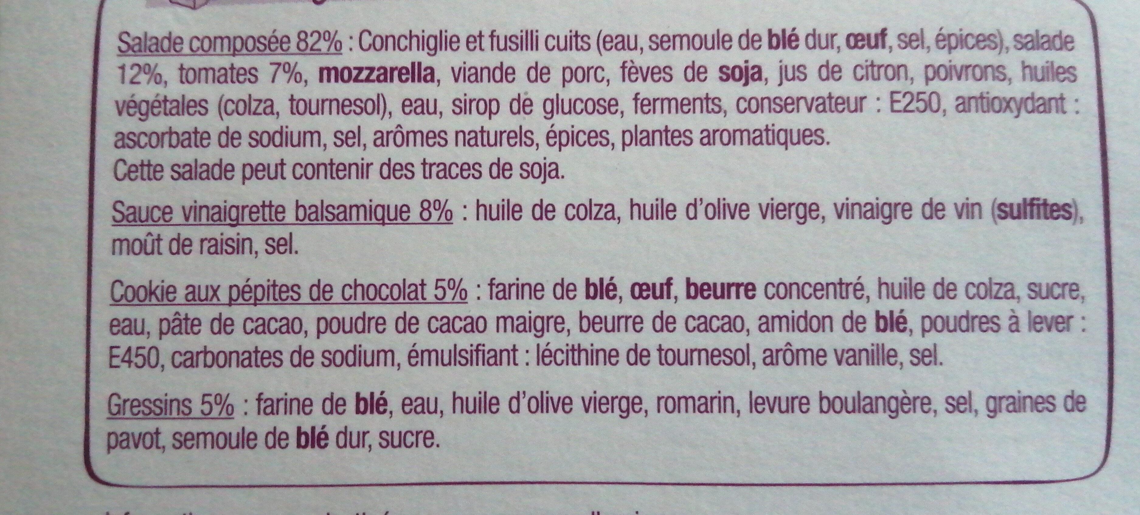 Salade & Compagnie - Roma - Ingredients - fr