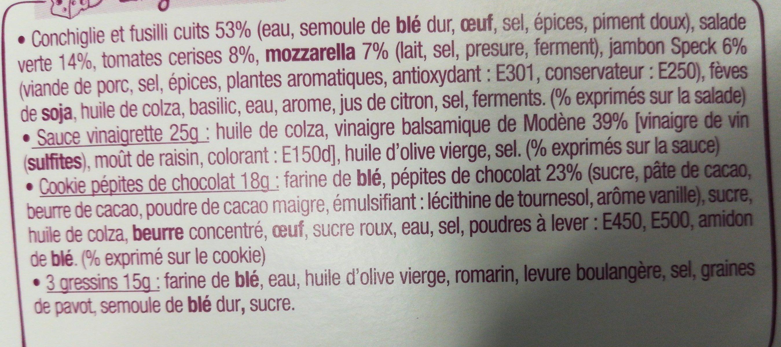Salade & Compagnie - Roma - Ingredientes