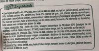 Salade & Compagnie - Auvergnate - Ingrédients