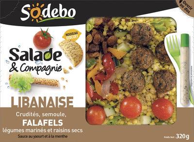 Salade & Compagnie - Libanaise - Produit - fr