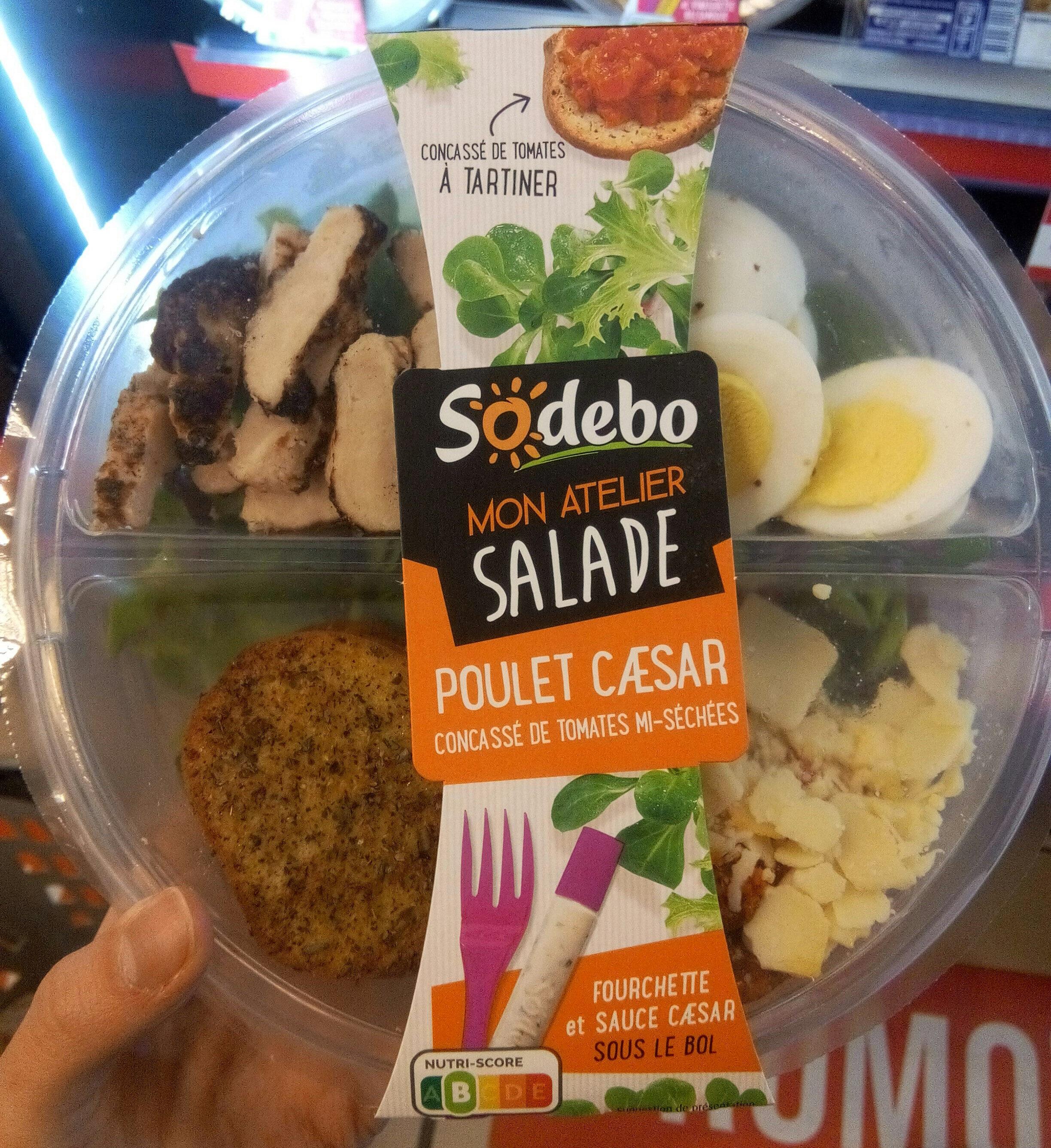 Mon atelier salade - Poulet caesar - Product