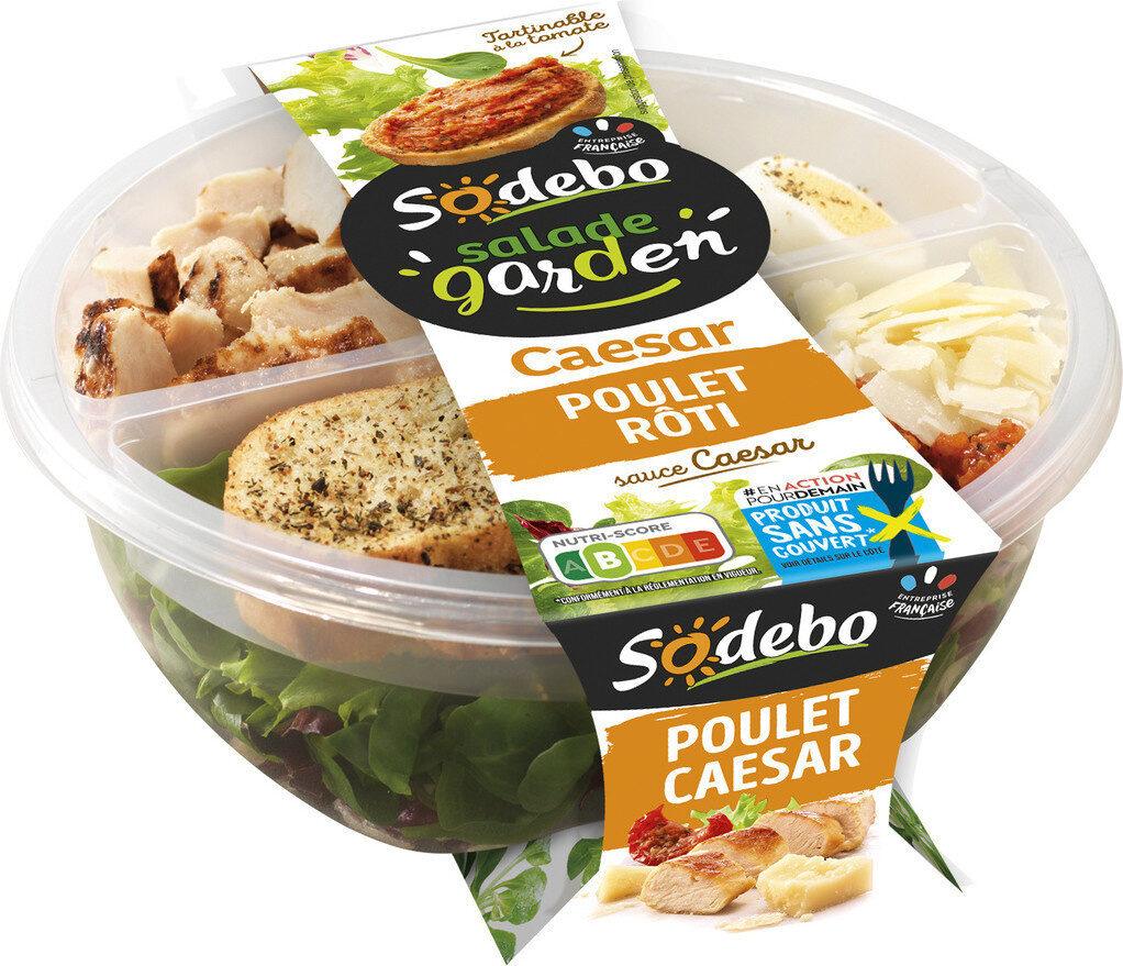 Mon atelier salade - Poulet caesar - Produit - fr