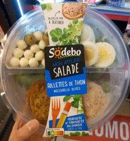Mon atelier salade - Rillettes de thon - Produit - fr