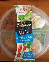 Salade rillettes de thon légumes marinés - Produit