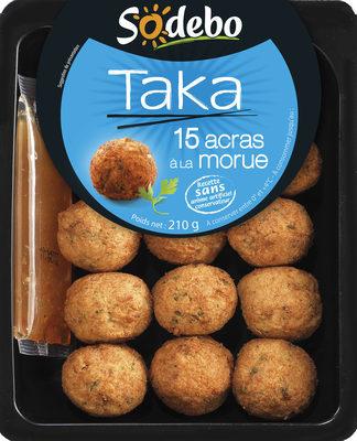 Taka - 15 Acras à la Morue - Produit