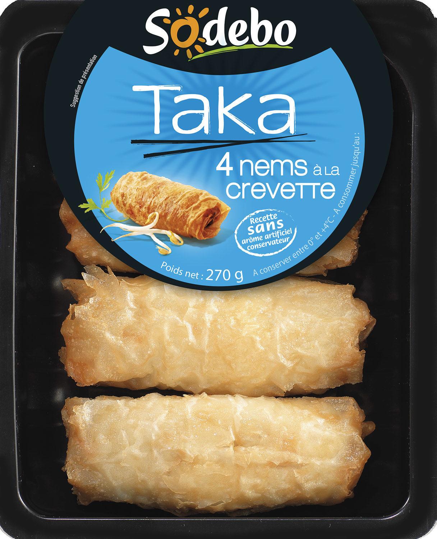 Taka - 4 Nems à la Crevette - Produit - fr