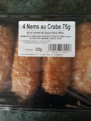 4 nems au crabe - Product