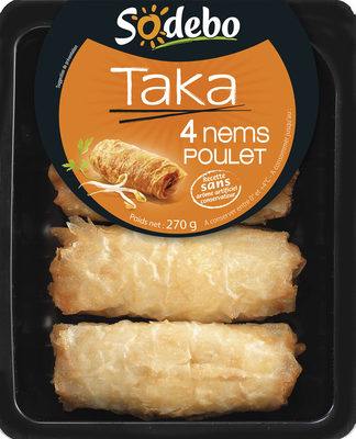 Taka - 4 Nems Poulet - Produit - fr