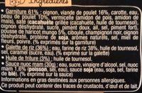 Taka - 4 Nems Poulet - Ingrédients - fr
