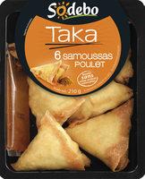 Taka - 6 Samoussas poulet - Produit