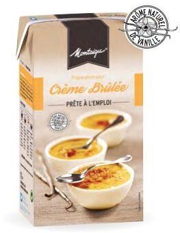 Préparation Uht Pour Crème Brûlée - Produit - fr