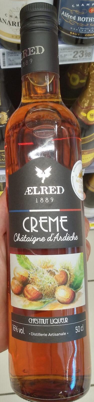 Crème de châtaigne d'Ardèche - Produit - fr