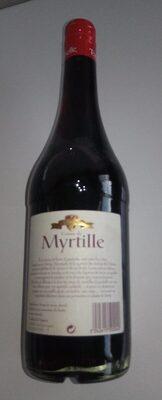Creme Myrtille 70CL - Product - fr