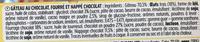 Tout chocolat nappage choco - Ingrédients - fr