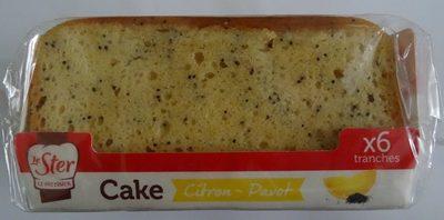 Cake Citron-Pavot - Product - fr