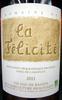 Sable de Camargue IGP 2011 Bio Domaine de la Félicité - Product