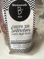 Chips de Sarrasin 100% Blé Noir - Product