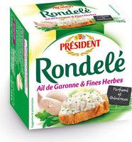 Rondel Ail de Garonne & Fines Herbes - Produit - fr
