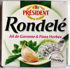 Rondel Ail de Garonne & Fines Herbes - Produit