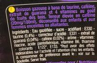 Purple party - Ingredients