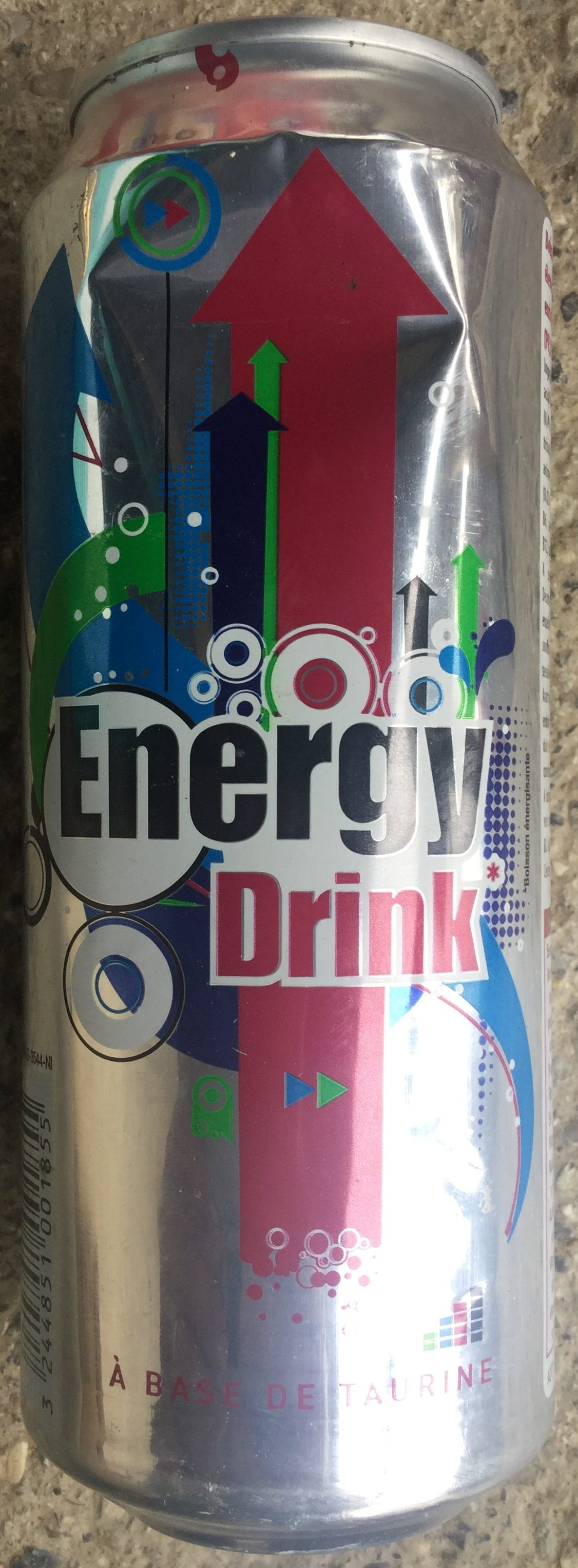 Energy drink à base de taurine - Produit - fr
