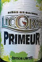 Biere Licorne primeur - Produit - fr
