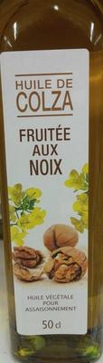 Huile de colza fruitée aux noix - Product