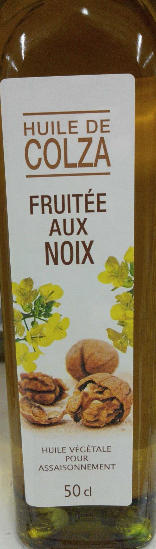 Huile de colza fruitée aux noix - Product - fr