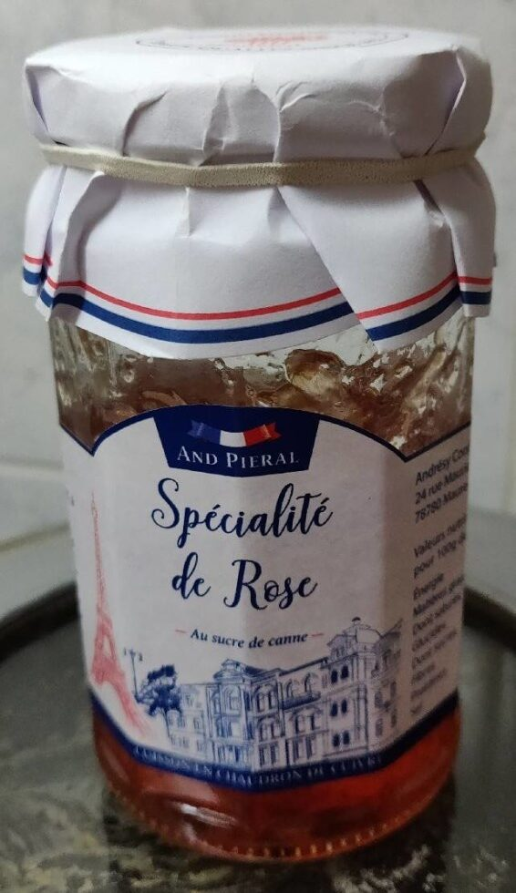 Spécialité de Rose - Product - fr
