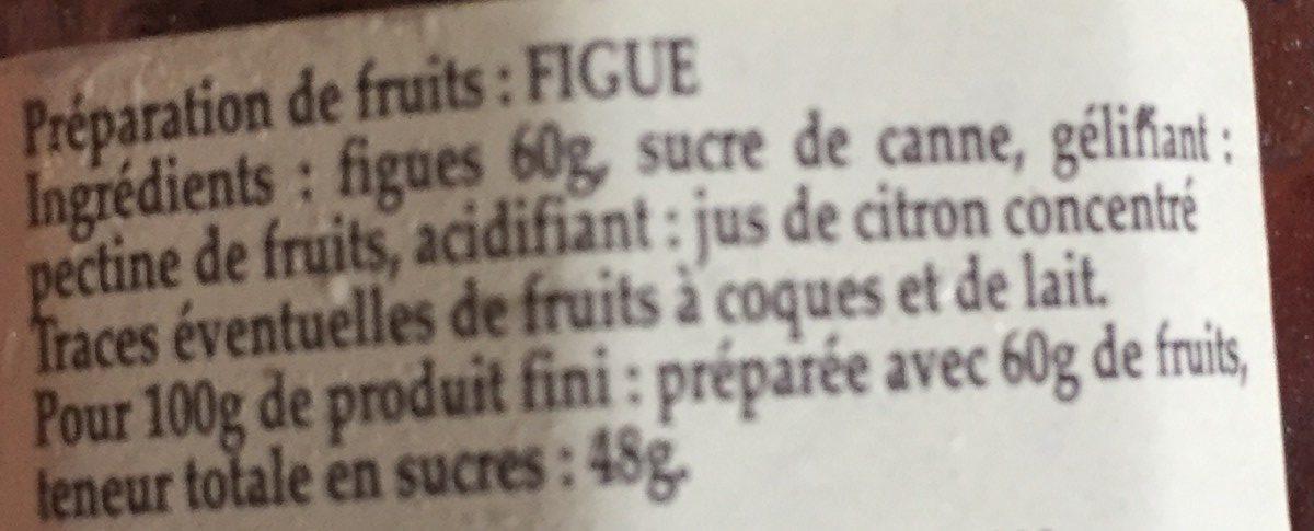 Figue - Ingredients - fr